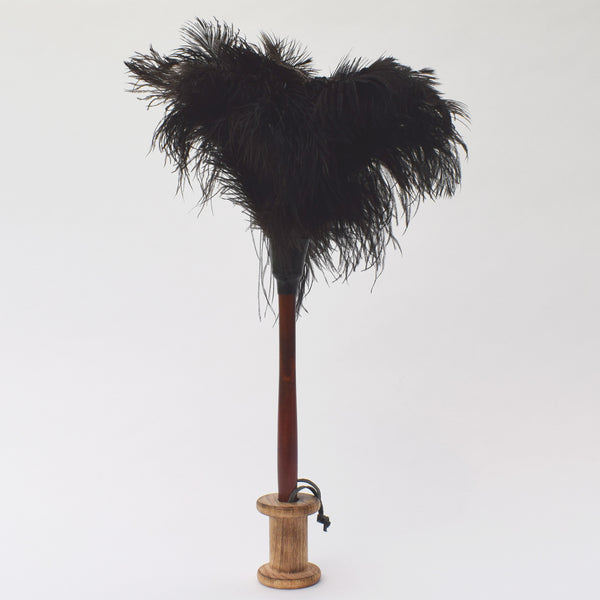 Feather duster with wooden handle by Redecker