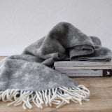 Scandanavian Cross Wool Throw