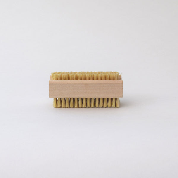 Wooden nail brush by Redecker