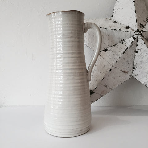 Dipped ceramic jug by House Doctor - Housekeeping Store