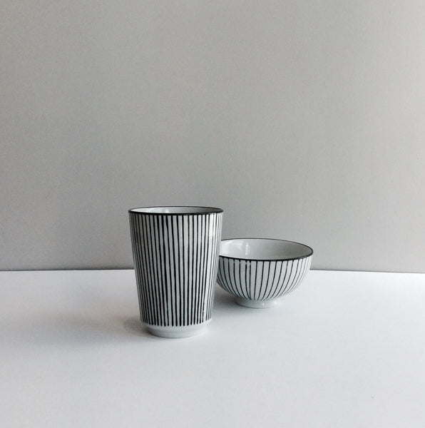 Pen Stripe Mug