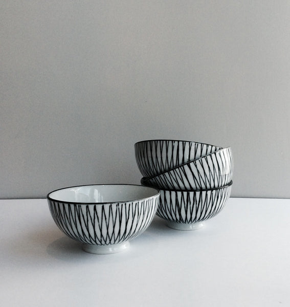 Pen Stripe Bowl