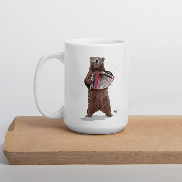 Don't Polka the Bear! - 15 oz. Mug
