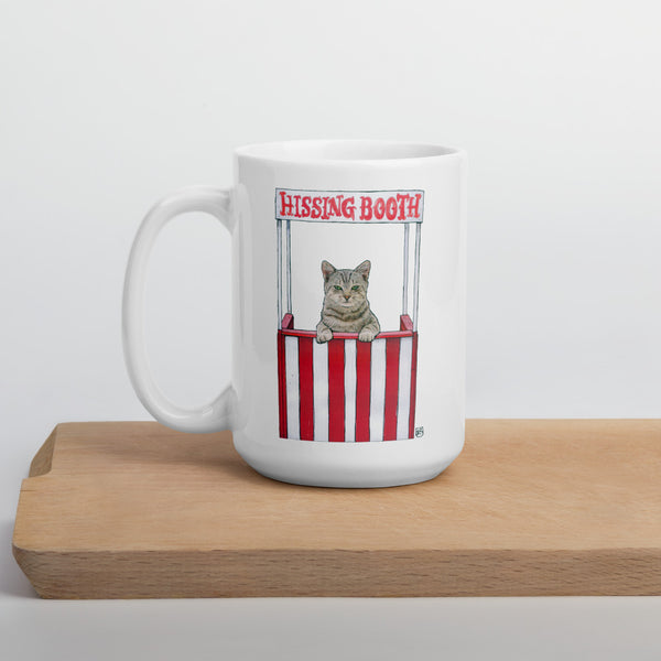 Hissing Booth - 15 oz. Mug