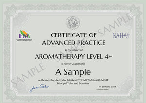 Advanced Practice Certificate