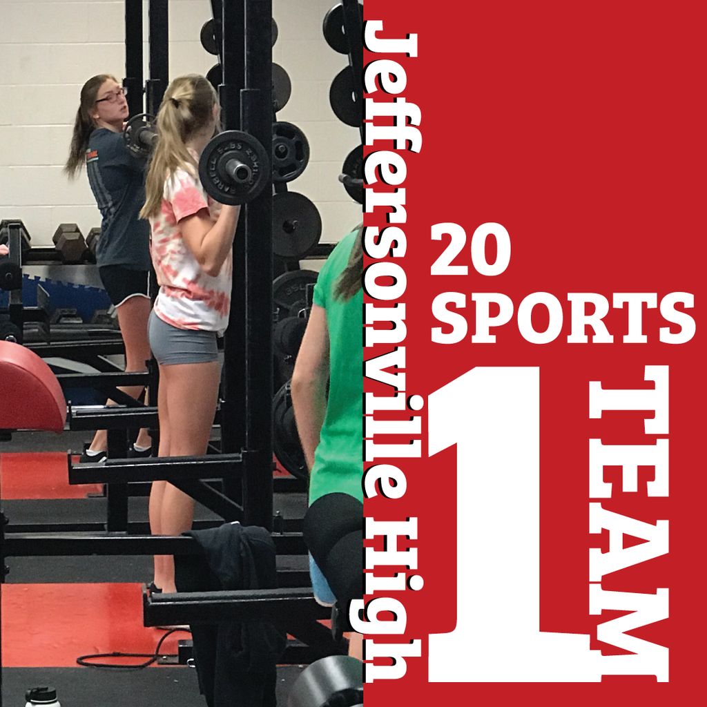 Jeffersonville High Swim Team Weigh Training