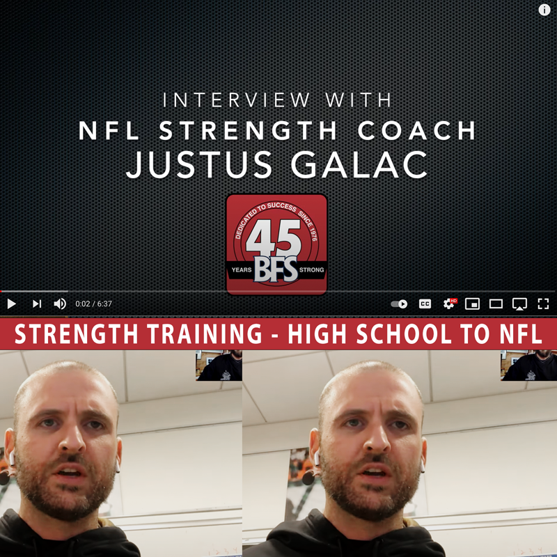 NFL Strength Coach Justus Galac