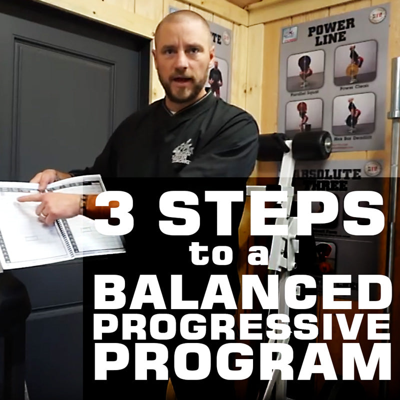 3 Steps to a Balanced Progressive Program