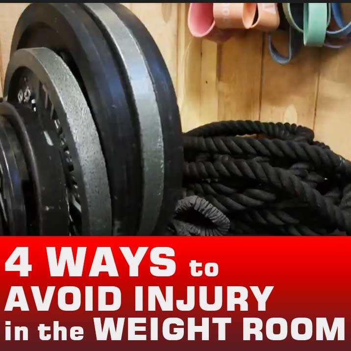 4 Ways to Avoid Injury in the Weight Room