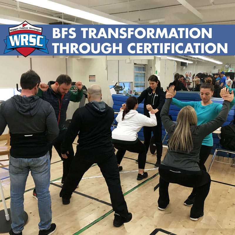 The BFS Transformation with Online Certification