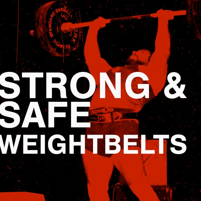 Strong & Safe with Weightlifting Belts