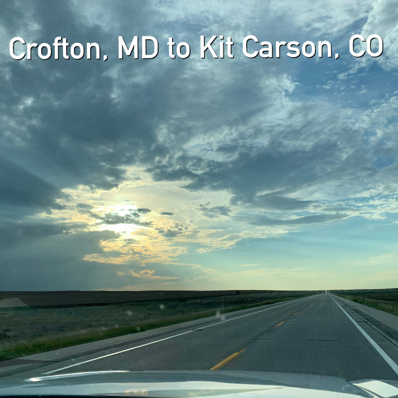 Crofton, MD to Kit Carson, CO