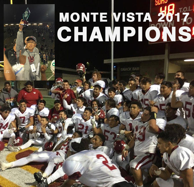 MONTE VISTA SUCCESS!  Monarchs Crowned  CIF Division 4 Champions