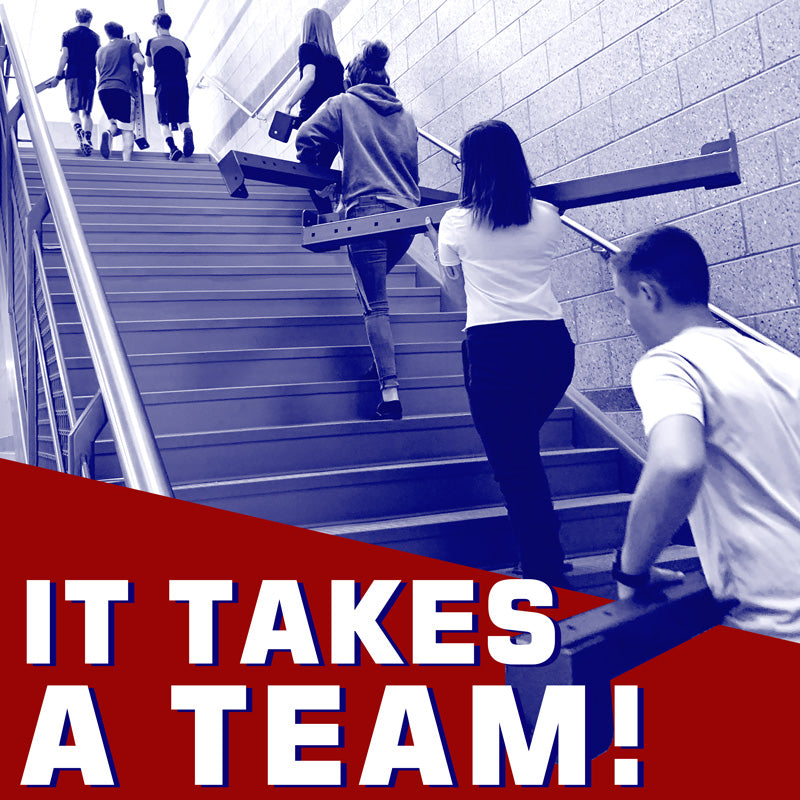 It Takes a Team!