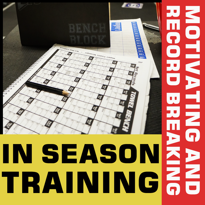 You Must Train In-Season!