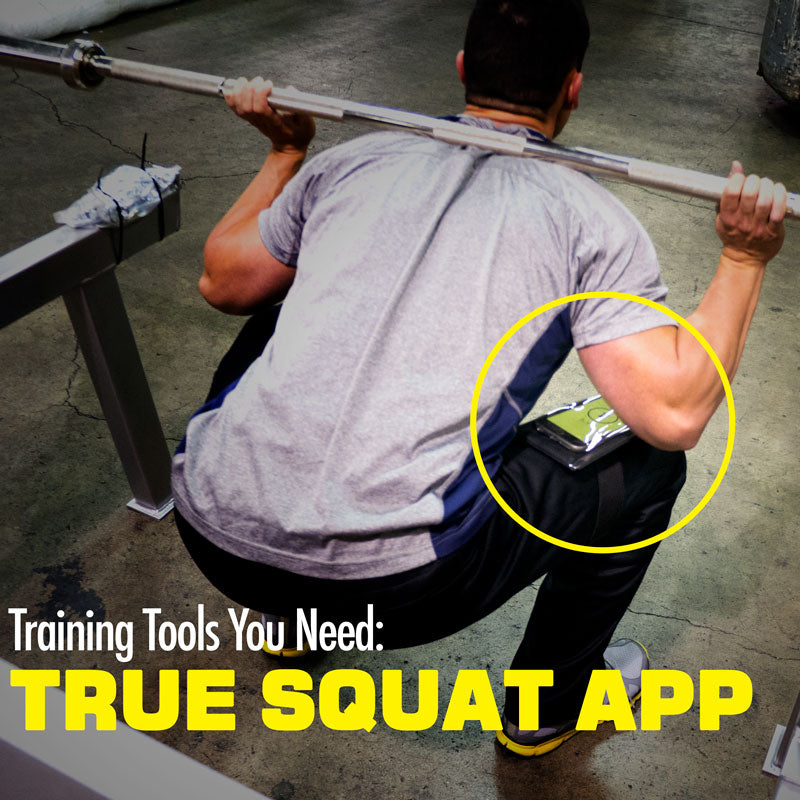 Training Tools You Need:  The True Squat App