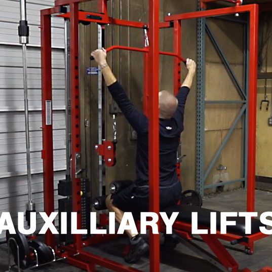 HOT AUXILIARIES!  Why BFS Athletes Need Lat Pulldowns