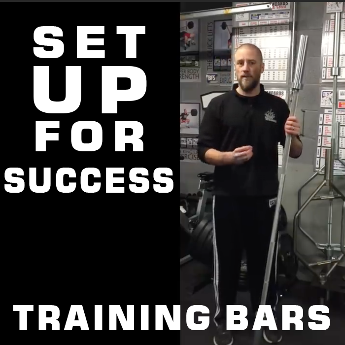 Training Bars Set You Up For Success