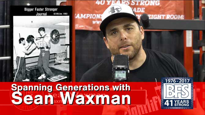 Spanning Generations with Sean Waxman