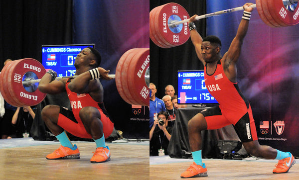 At the age of 15, CJ moved up to the 152-pound bodyweight class and exceeded the youth world record (Photos by Bruce Klemens.)