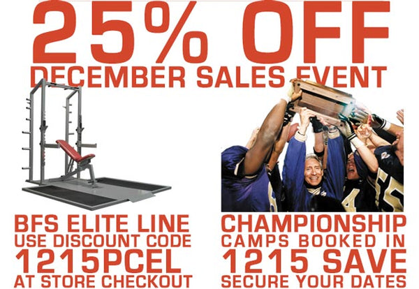 December Promotions