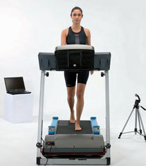 Optojump on treadmill