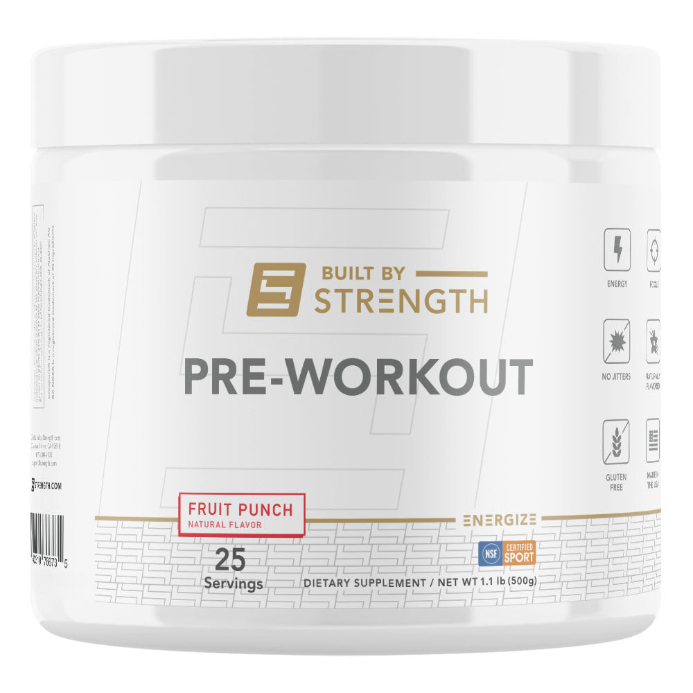 Built By Strength Pre-Workout