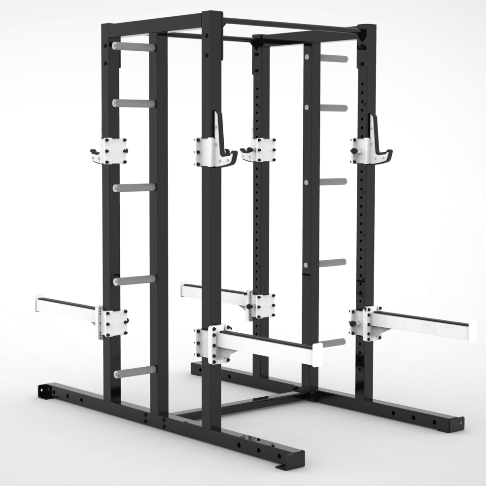 Defender Double Half Rack