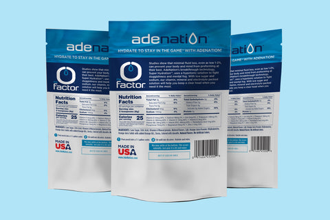 Ade Nation Case of 15 pouches Grape or Orange