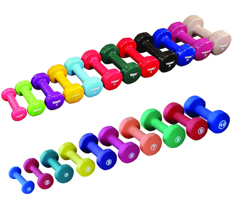 Vinyl Fitbell - Multi-Color - York