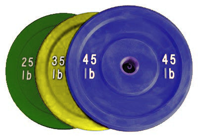 Solid Rubber Bumpers (Colored)