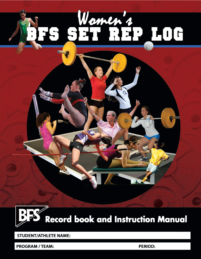Women's Set-Rep Log Book