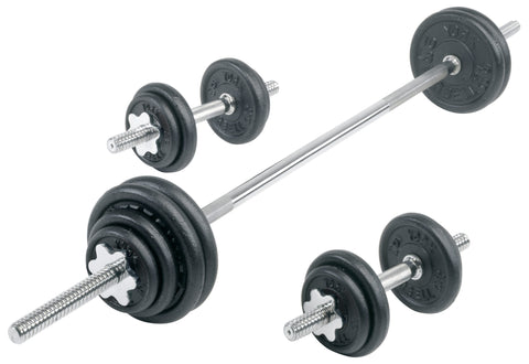 Black Cast Iron Dumbbell Sets - York