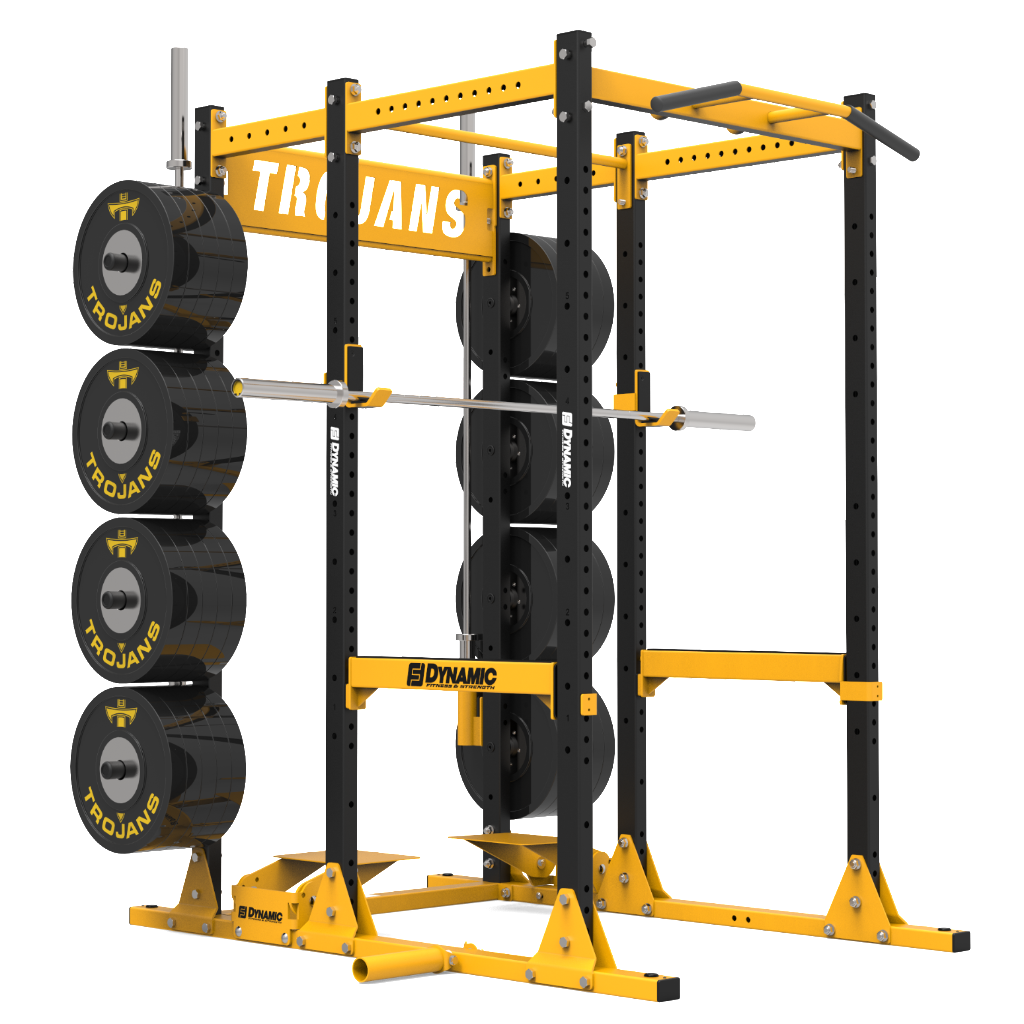 VARSITY POWER RACK W/ STORAGE