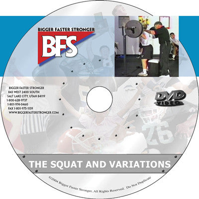Video - The Squat and Variations