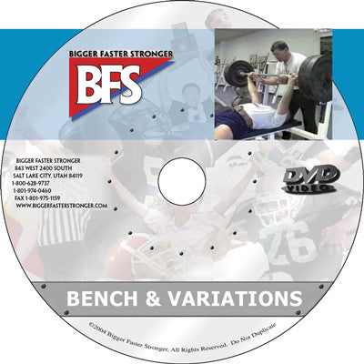 Video - The Bench and Variations