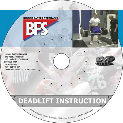 Video -  Deadlift Instruction