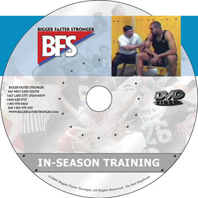 Video - BFS In-Season Training