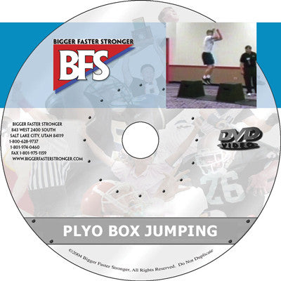 Video - Plyo Box Jumping