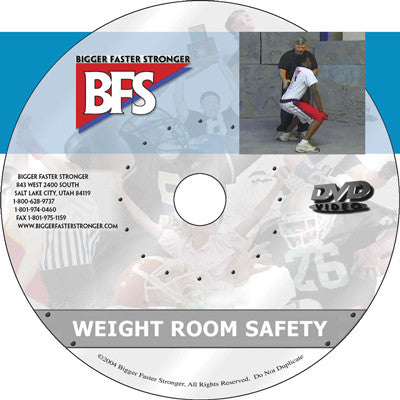 Video - Weightroom Safety