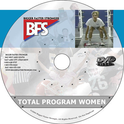 Video - The Total Program for Women
