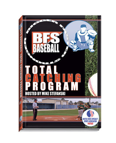 BFS Baseball Total Catching DVD video