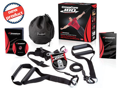 CrossCore 180 Rotational Bodyweight Suspension Trainer