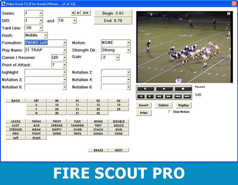 FireScout Pro inMotion Software (Stock)