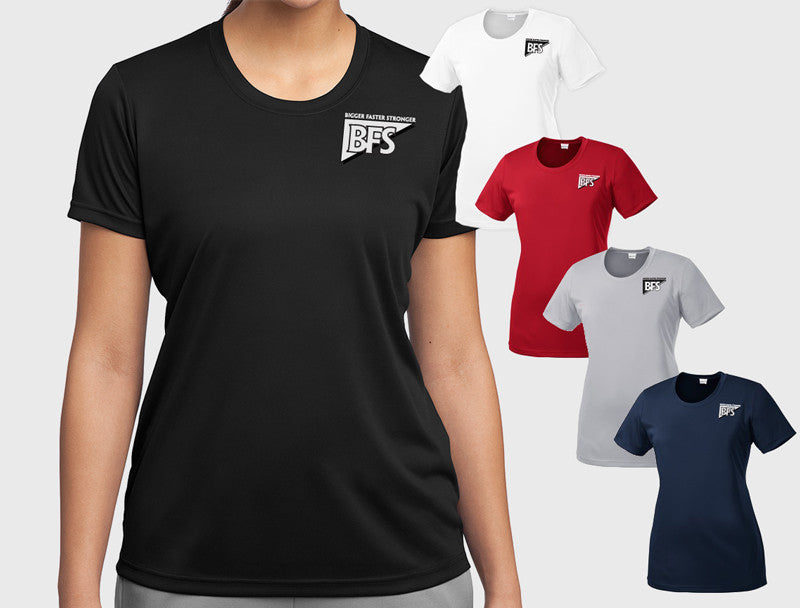 Ladies Performance Shirt (Short Sleeve, Loose Fit) - LST350