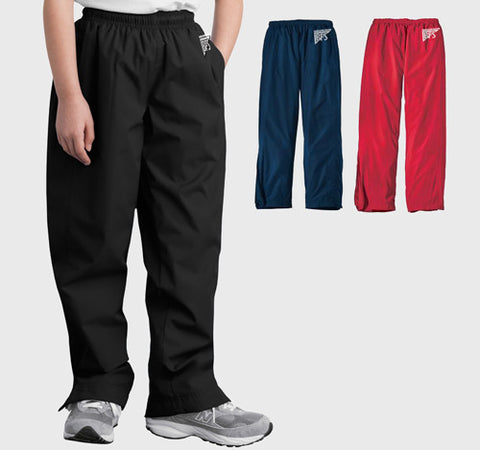 Youth Warm Up Pant (Polyester) - YPST74