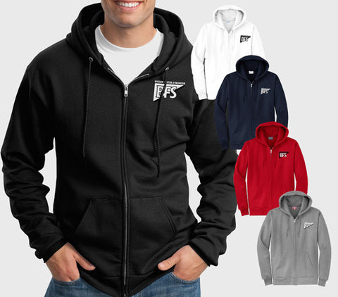 Hooded Ful Zip Sweatshirt - PC78ZH