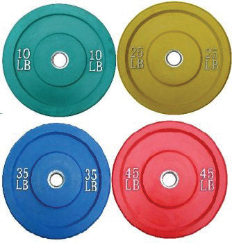 Economy Solid Rubber Bumpers (Colored)