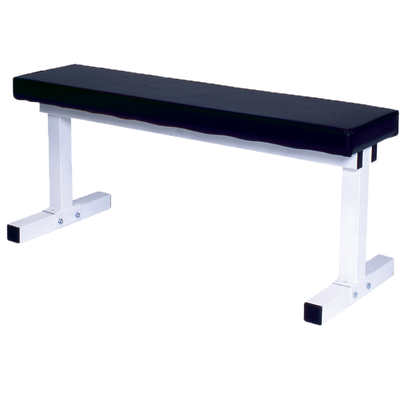 Pro Series 101 White – Flat Bench - York