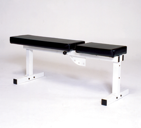 Pro Series 205 FI White Flat Adjustable Incline Bench - York